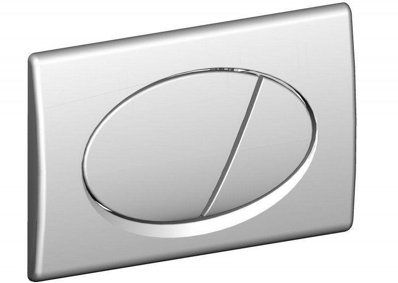 Przycisk spłuczki podtynkowej, chrom-połysk M71