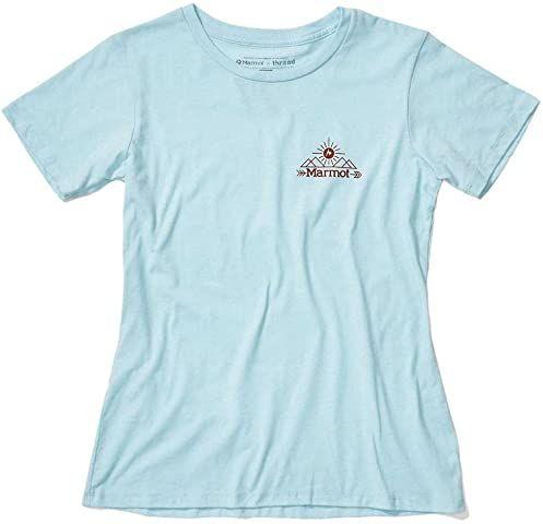 Marmot Damski T-shirt Arrow T-shirt damski niebieski Corydalis Blue Heather L