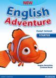 New English Adventure, Starter - zeszyt ćwiczeń ZAKŁADKA DO KSIĄŻEK GRATIS DO KAŻDEGO ZAMÓWIENIA