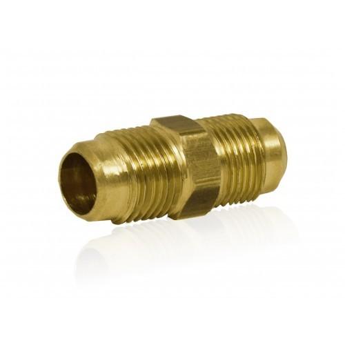 Łącznik mosiężny (nypel) skręcany do rur miedzianych 5/8 cala (15,80mm) (ZL58)