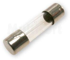Wkładka topikowa szklana 5x20mm bezzwłoczna 0,08A