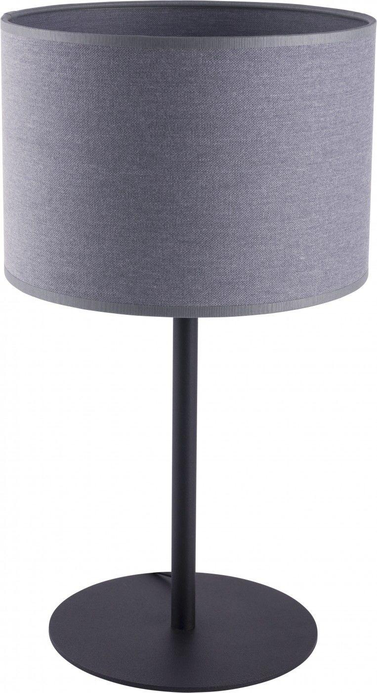 Lampa stołowa Alice 9090 Nowodvorski Lighting szara oprawa w nowoczesnym stylu