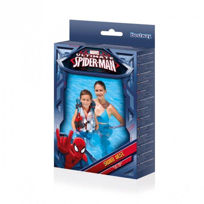 Dmuchana kamizelka do nauki pływania Spiderman 51x46 cm