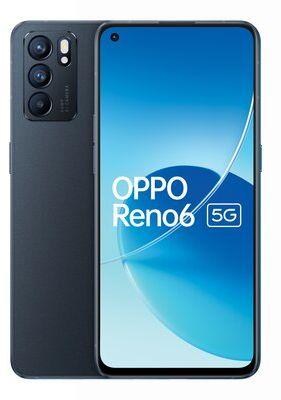 """Smartfon OPPO Reno 6 8/128GB 5G 6.43"""" 90Hz Czarny CPH2251 Dogodne raty! 3 MIESIĄCE KORZYSTANIA Z MICROSOFT 365 WYBRANY PIĄTY PRODUKT 99% TANIEJ DARMOWY TRANSPORT!"""