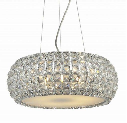ŻARÓWKI LED GRATIS! Lampa wisząca Sophia 5 AZ0522 AZzardo kryształowa oprawa w kolorze chromu