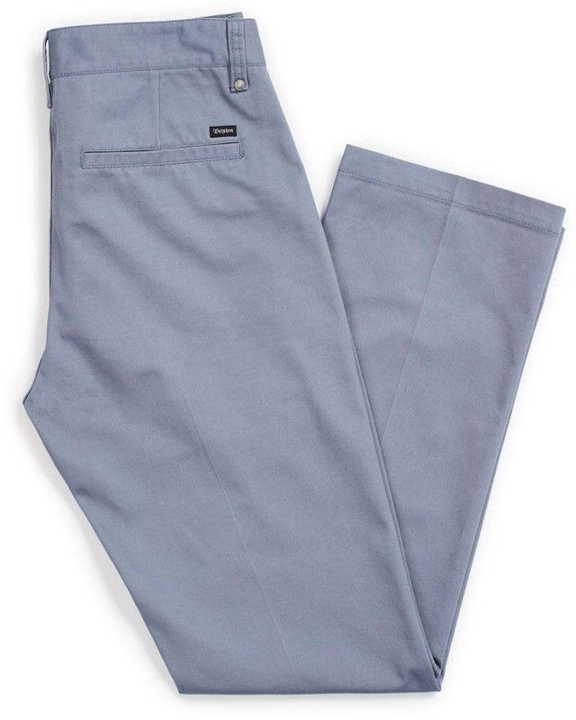 spodnie BRIXTON - Labor Chino Pant Grey Blue (GYBLU)
