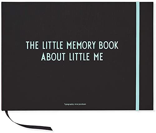Design Letters 20202401TURQUOISE Baby''s First Book, turkusowy