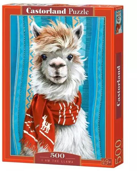 Puzzle 500 I am the lama CASTOR - Castorland