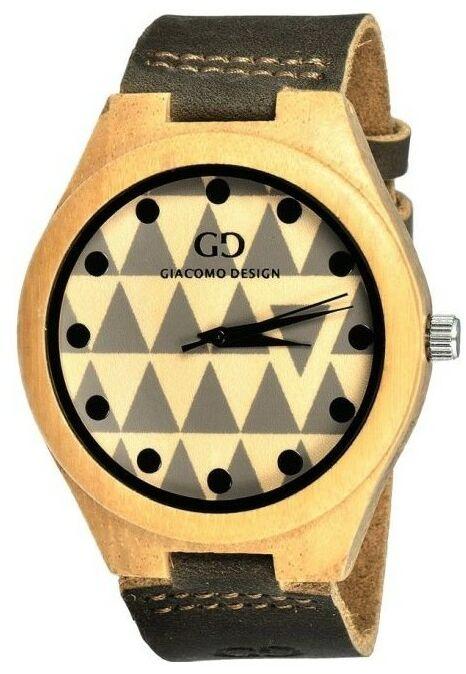 Zegarek GIACOMO DESIGN Legno Sul Bar GD08003