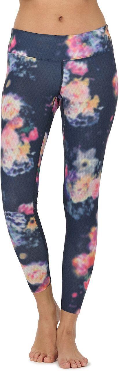 bielizna termoaktywna damska - spodnie BURTON MIDWEIGHT PT PRISM FLORAL