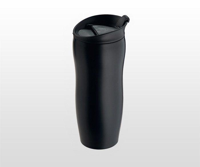 Kubek termiczny BLACKY 400 ml (czarny)