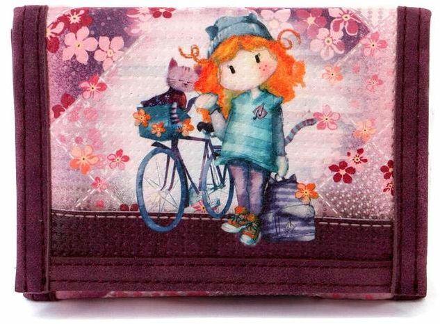 Forever Ninette Bicycle-portmonetka portmonetka, 12 cm, wielokolorowa (wielokolorowa)