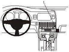 ProClip do Audi Q7 06-15