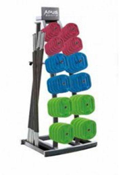 Stojak na zestawy Body Pump (mały) - Apus Sports