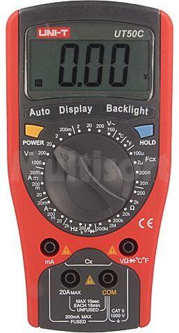 Multimetr cyfrowy UNI-T UT50C LCD 3,5 cyfry (1999) -40 1000 C
