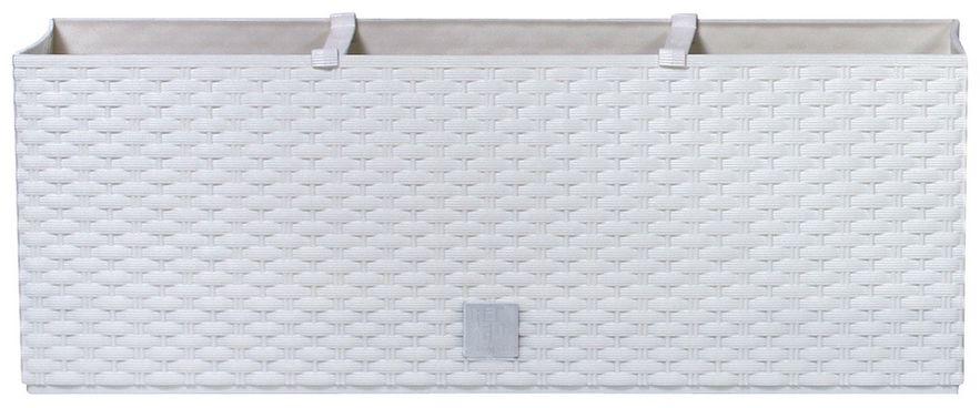 Prosperplast Skrzynka kwiatowa Rato Case biały, 51,4x19x18,6cm