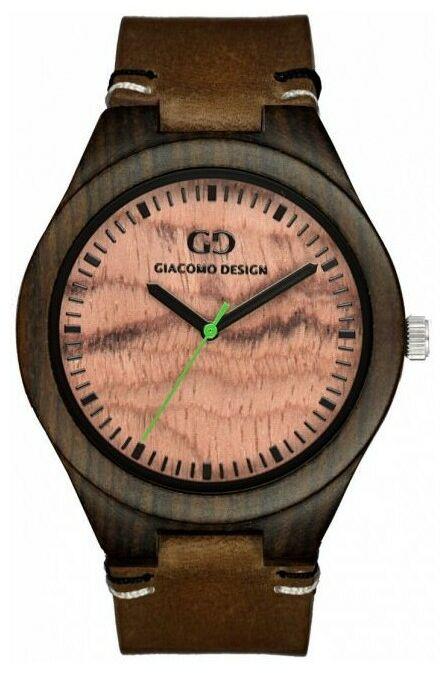 Zegarek GIACOMO DESIGN Legno Sul Bar GD08011