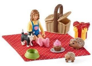 Schleich Farm World Zestaw Urodzinowy piknik SLH42426