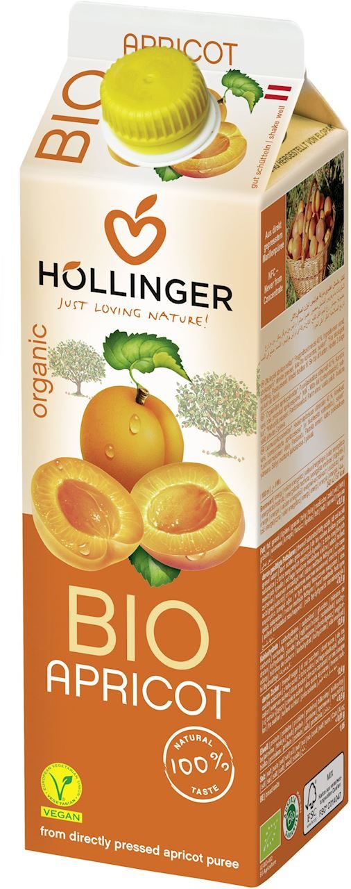 Nektar morelowy bio 1 l - hollinger