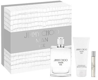 Jimmy Choo Man Ice balsam po goleniu 100ml + miniaturka 7,5ml + woda toaletowa - 100ml