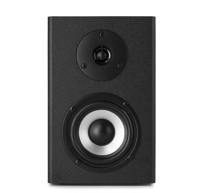 Vonyx SM40 Zestaw głośnikowy monitorów studyjnych 100 W maks. głośniki 2-drożne, czarny