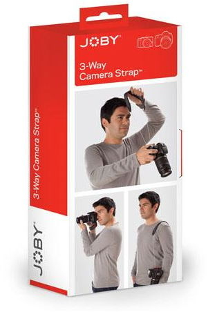 Joby 3-Way Camera Strap - pasek do aparatów o wytrzymałości do 40kg Joby 3-Way Camera Strap