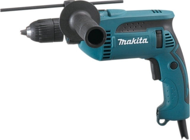elektryczna jednobiegowa wiertarka udarowa 680W Makita [HP1641FK]