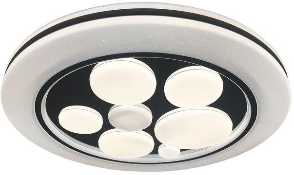 Bubbles plafon LED z pilotem 1 punktowy biały ML6392 - Milagro // Rabaty w koszyku i darmowa dostawa od 299zł !