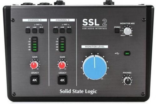 Solid State Logic SSL2 Interfejs audio USB-C 2in/2out