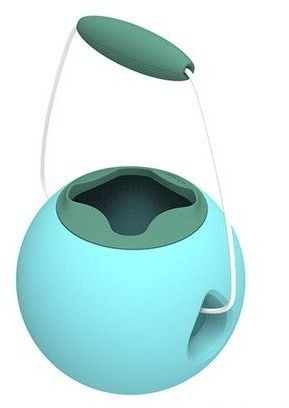 Quut - Quut Małe Wiaderko Wielofunkcyjne Mini Ballo Banana Blue