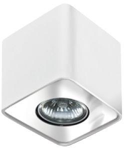 Plafon Nino 1 AZ0735 AZzardo geometryczna oprawa w kolorze białym