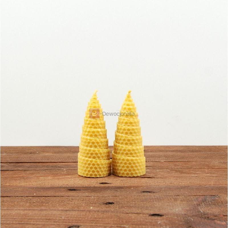 Świeca z węzy pszczelej - 11cm