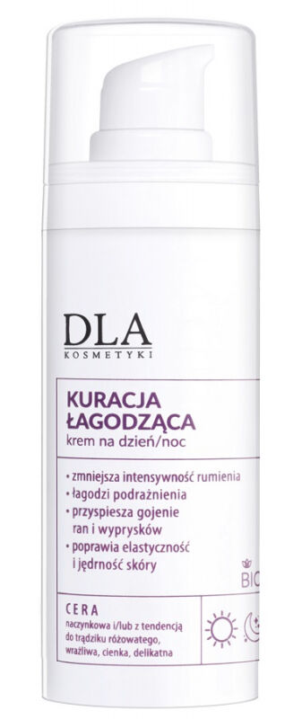 Kosmetyki DLA - Kuracja łagodząca do cery naczyniowej