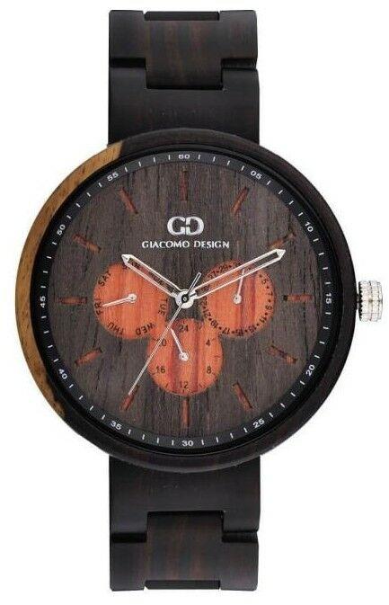 Zegarek GIACOMO DESIGN Calendario Estesso GD08103