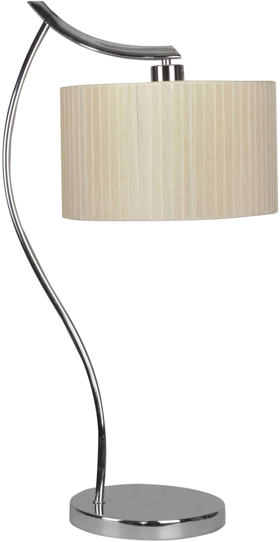 Candellux DRAGA 41-04239 lampa podłogowa kremowy abażur 1X60W E27 34cm