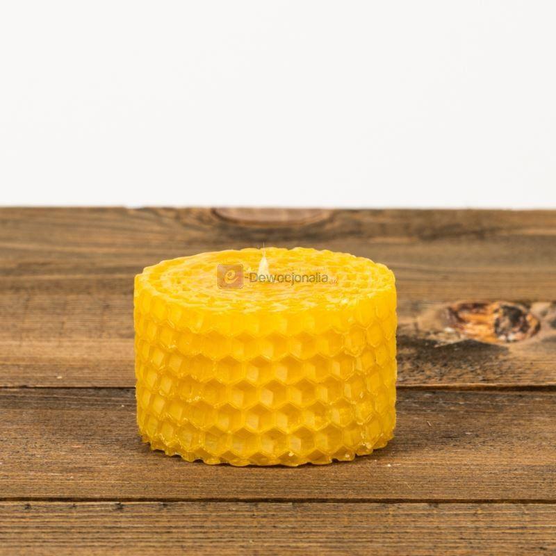 Świeca z węzy pszczelej - 3cm