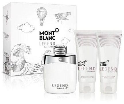 Montblanc Legend Spirit zestaw upominkowy VIII. dla mężczyzn