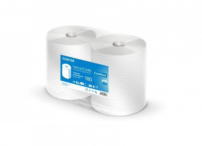 Czyściwo przemysłowe białe 180m VelvetCare