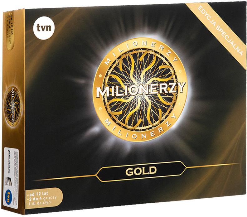 TM Toys - Gra Milionerzy Edycja Gold 308299