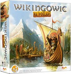 Gra planszowa Wikingowie na pokład ZAKŁADKA DO KSIĄŻEK GRATIS DO KAŻDEGO ZAMÓWIENIA