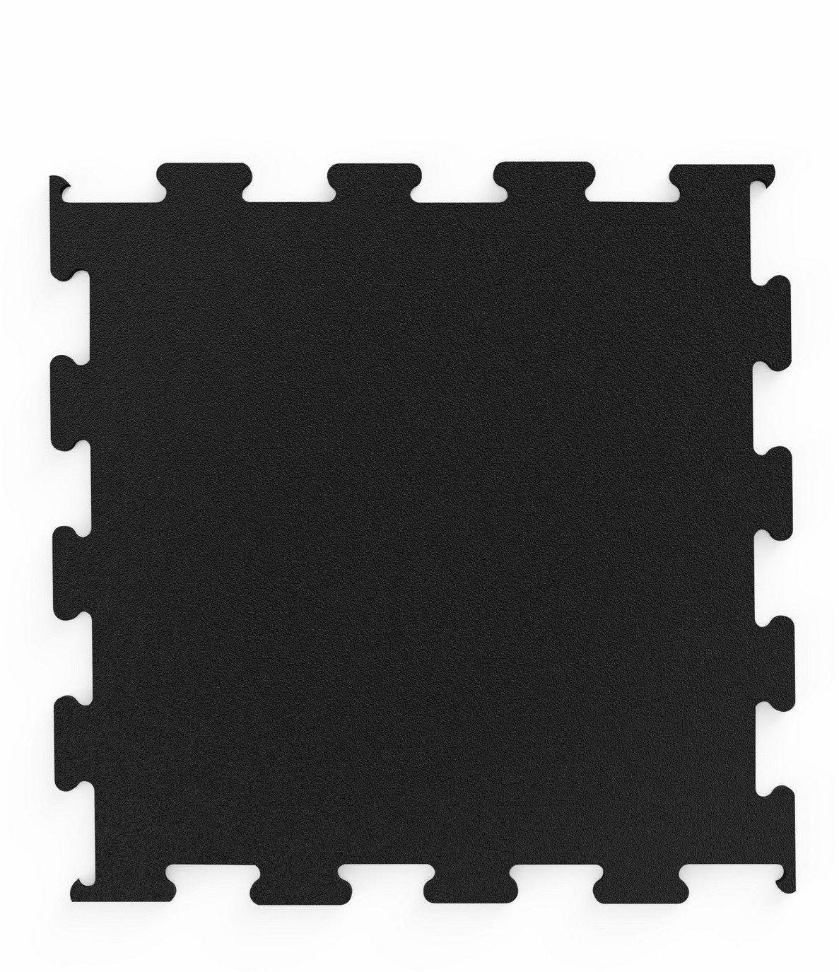 Profesjonalna podłoga pod wolne ciężary puzzle czarna - Marbo Sport
