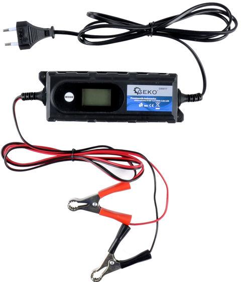 Prostownik ładowarka do akumulatora 6/12V 4,2A lcd
