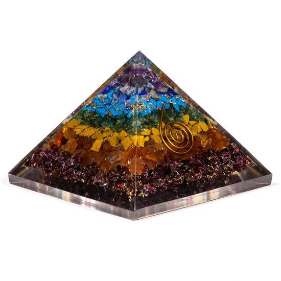 Orgonit - piramida do energetyzacji czakramów