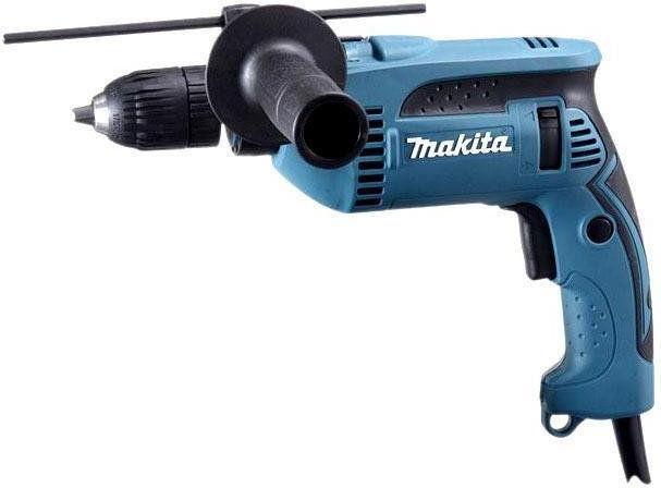 elektryczna jednobiegowa wiertarka udarowa 680W Makita [HP1641K]