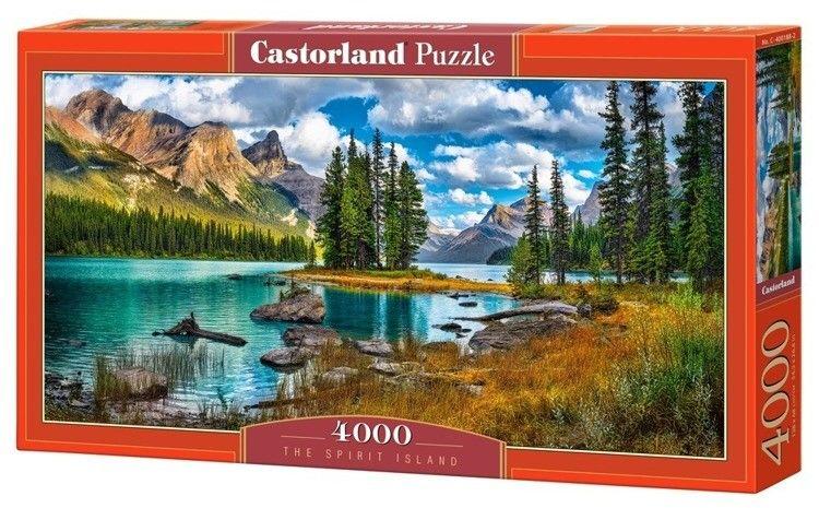 Puzzle Castor 4000 - Wyspa Ducha, The Spirit Island