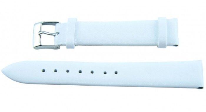 Pasek BISSET BS206 18mm biały