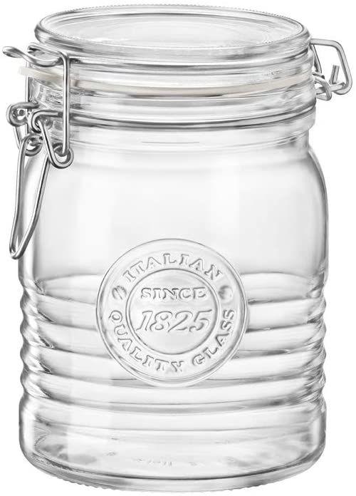 Bormioli Rocco Officina1825 słoik z głowicą Swing, 6 sztuk, 43 ml, przezroczysty
