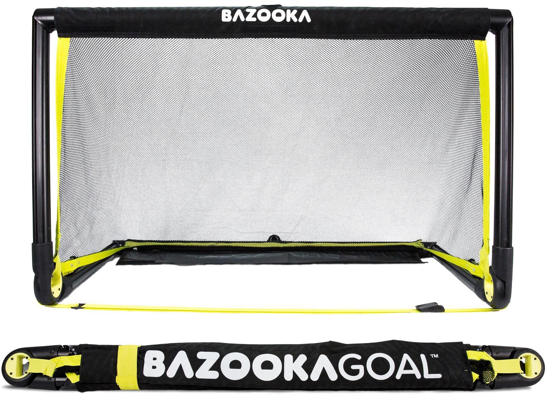 Bramka piłkarska BAZOOKAGOAL 120x75 czarna składana