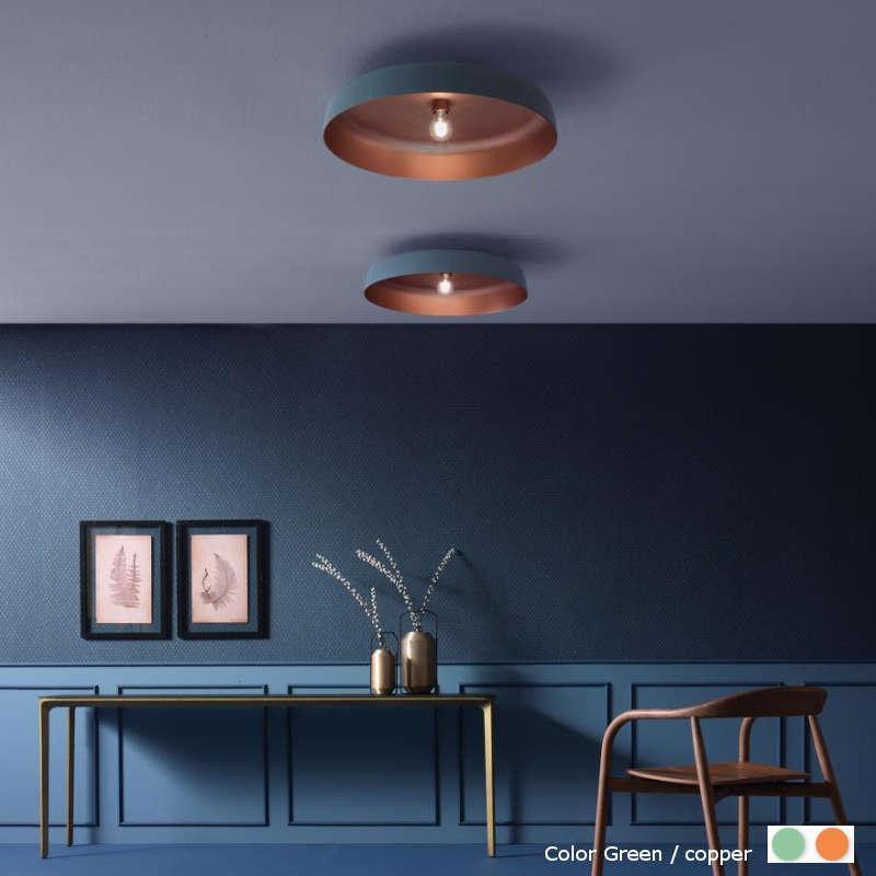 Moma W Ø60 niebieski - Oty light - plafon