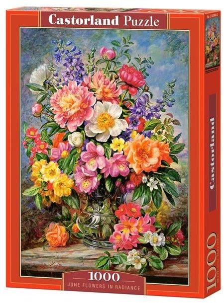 Puzzle Castorland 1000 - Blask czerwcowych kwiatów, June Flowers in Radiance